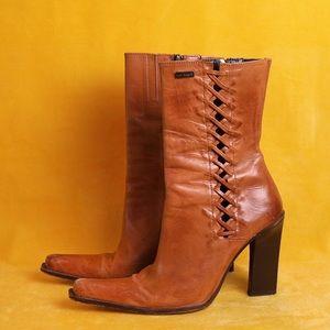 Vintage Paulo Brandao Leather Booties